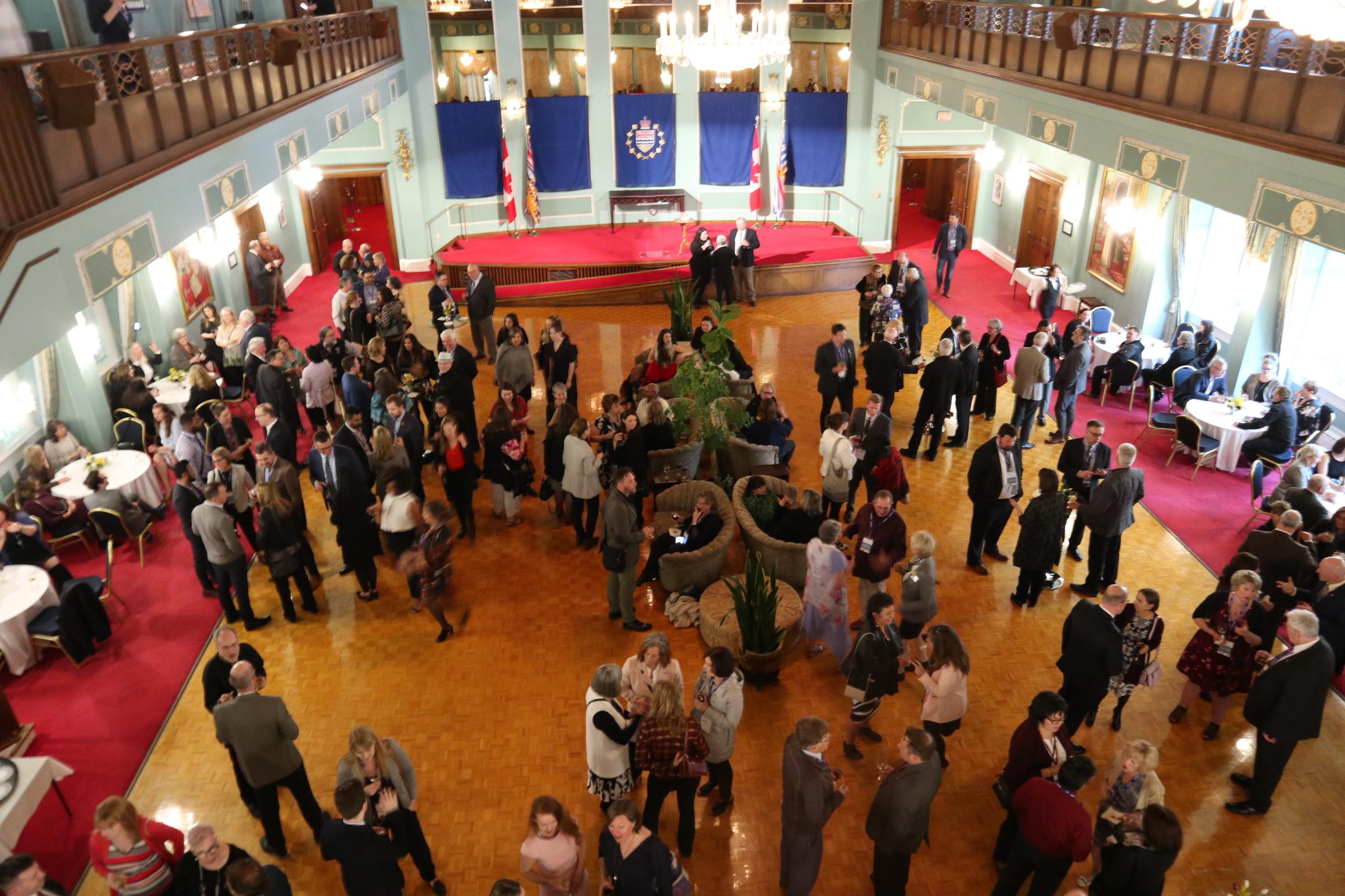Presidents reception