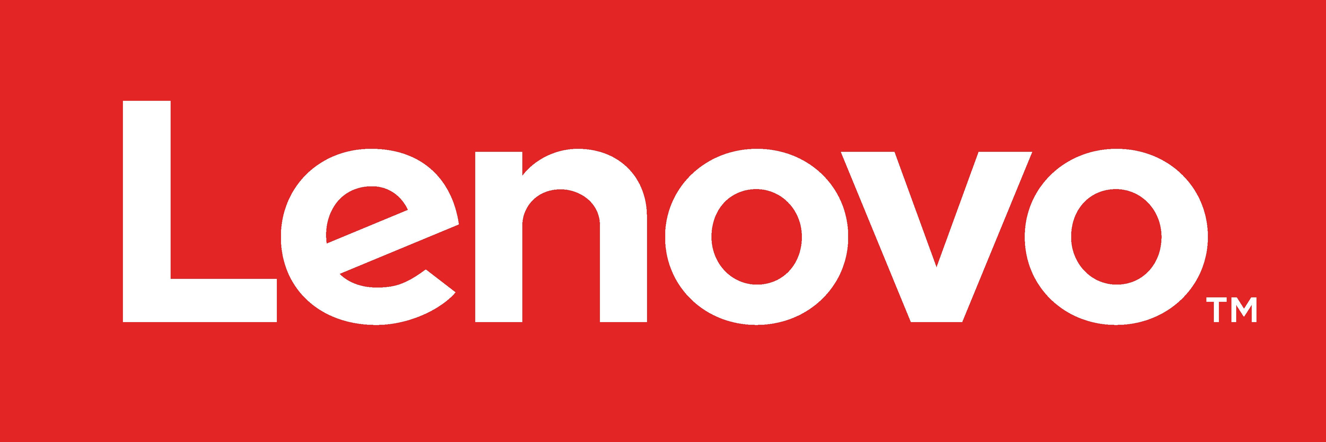 Lenovo Logo Red - Horizontal