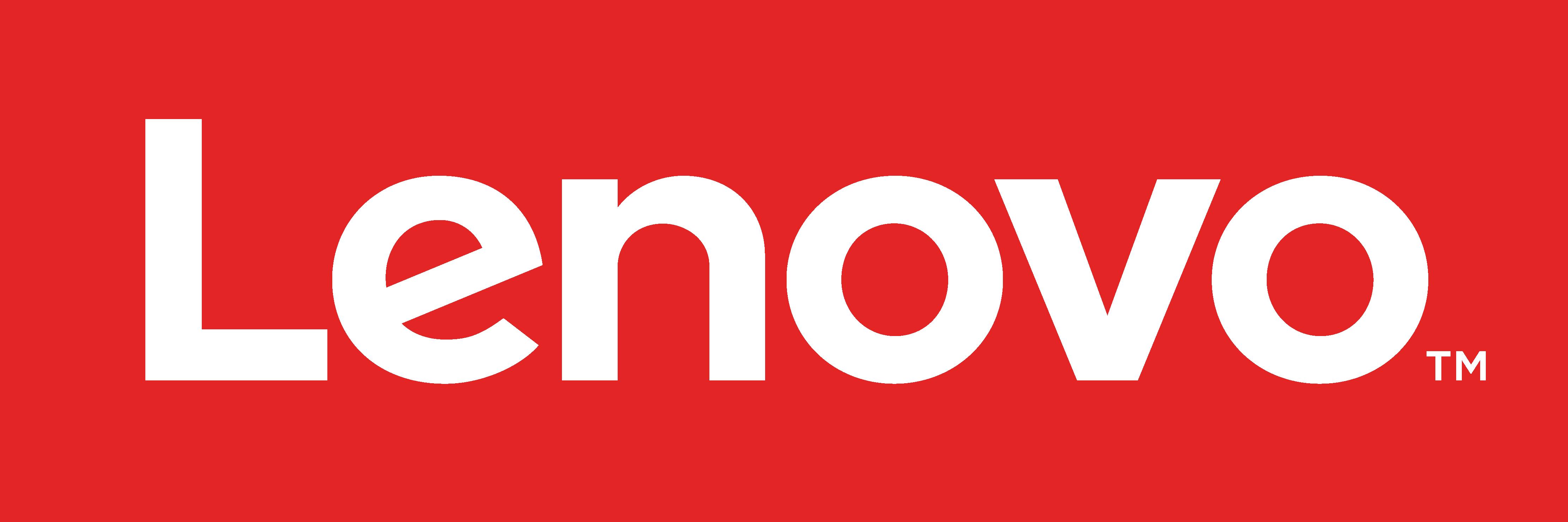 Lenovo Logo Red - Horizontal